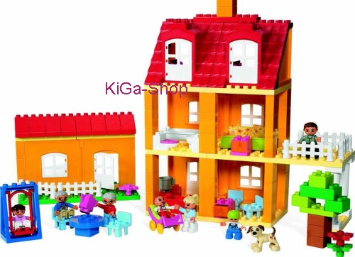 lego duplo dacta education spielhaus haus set 9091 ebay. Black Bedroom Furniture Sets. Home Design Ideas