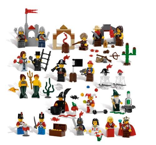 Details zu lego märchen und historische figuren set 9349 frachtfrei