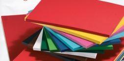 Tonkarton, 220g/m², 50 x 70 cm, 10 Bögen, Farben wählbar